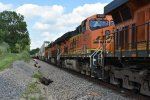 BNSF 7287 Roster.