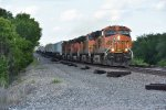 BNSF 7326 Races a hot Z9 down the Marceline Sub.