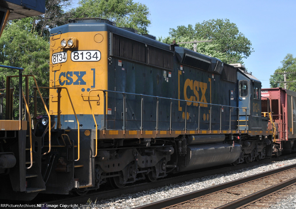 CSXT 8134