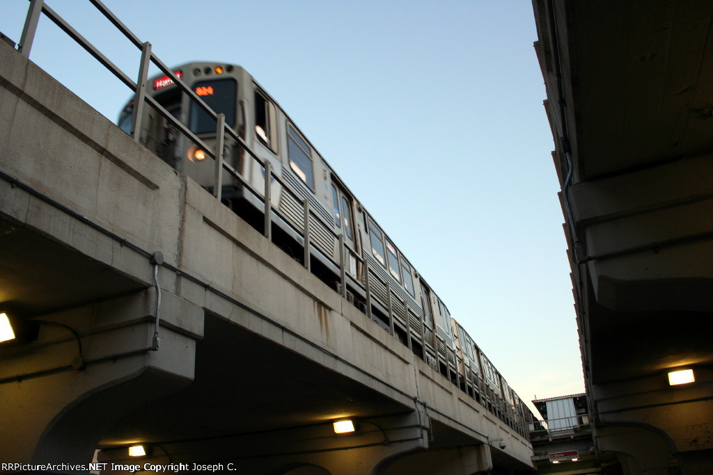 CTA at Morse Station