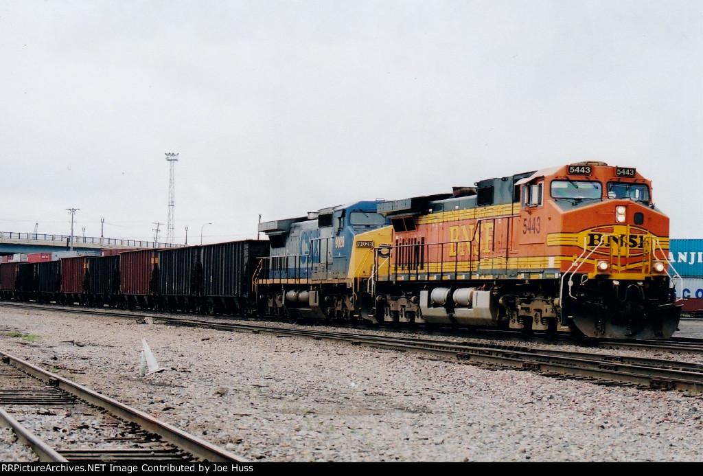 BNSF 5443 East
