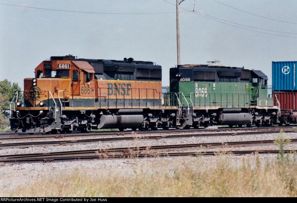 BNSF 6861 East