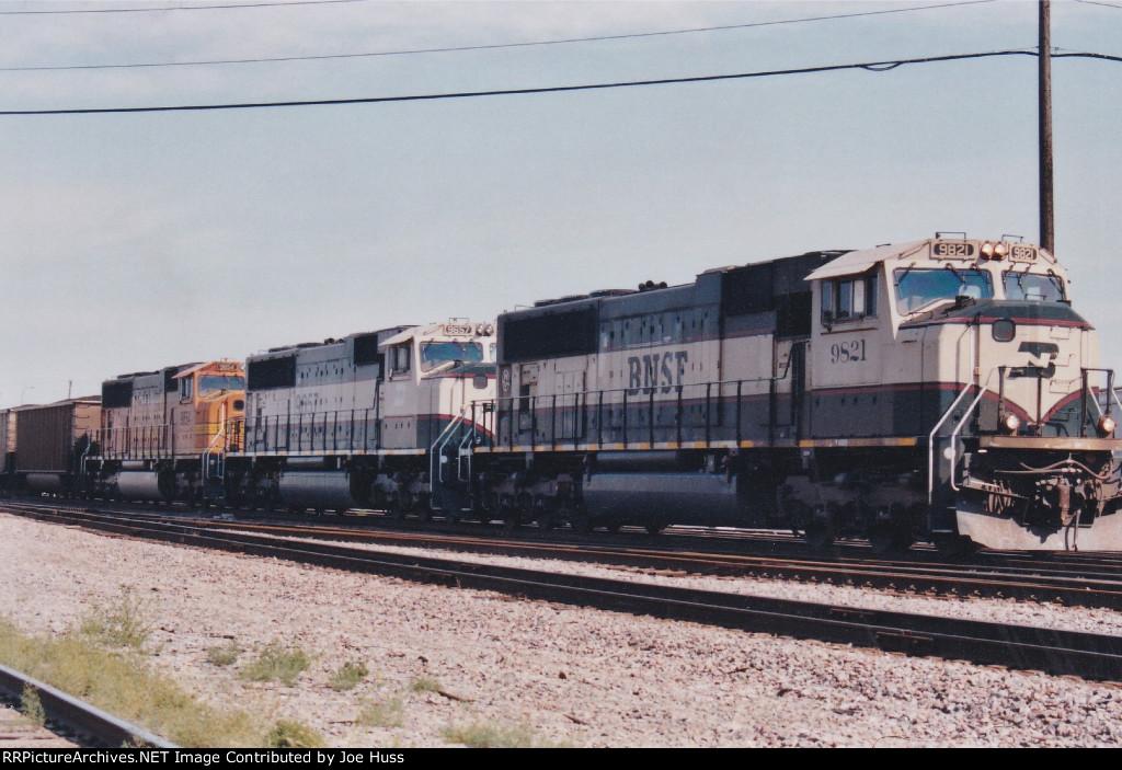 BNSF 9821 East