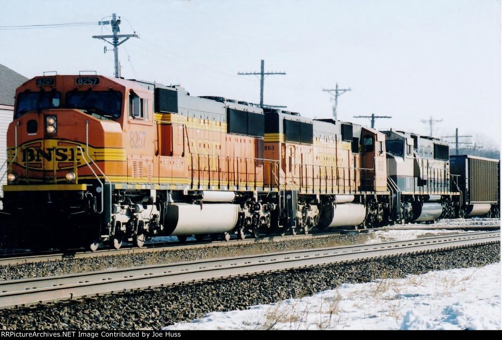 BNSF 8257 West