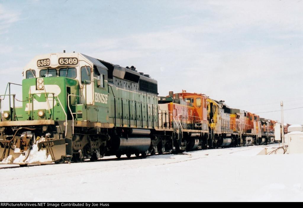 BNSF 6369 East