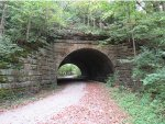 P&E Railroad Tunnel East Side