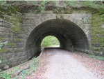 P&E Railroad Tunnel West Side