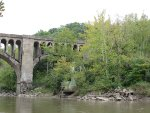 CSX Railroad Bridge over Salt Fork River South end