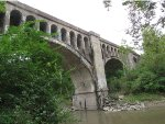 CSX Railroad Bridge over Salt Fork River