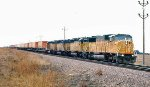 Fast freights across the prairie