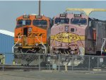 New & Old BNSF