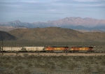 Dual DPUs on westbound BNSF unit grain train