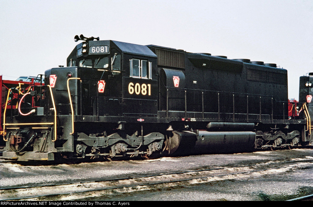 PRR 6081, EF-30A, c. 1967
