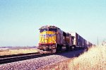 UP 4002 Container manifest on an almost Spring day