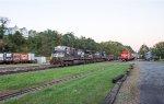 33K passes the Phillipsburg Railroad Historians Museum