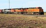 BNSF SB oil train power