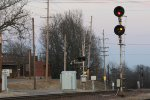 UP signals for the junction