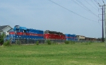 CA1 (local rock train) in Chesapeake