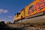 UP trains meet