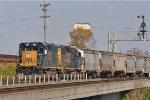 CSXT 2053 On CSX J 784 Southbound