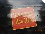 """Strasburg Railroad"" in the Canadian National logo"