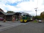 "Belvidere & Delaware ""Milford Mile"" caboose excursion"