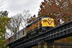 CVSR 6771 crosses Cascade Locks.