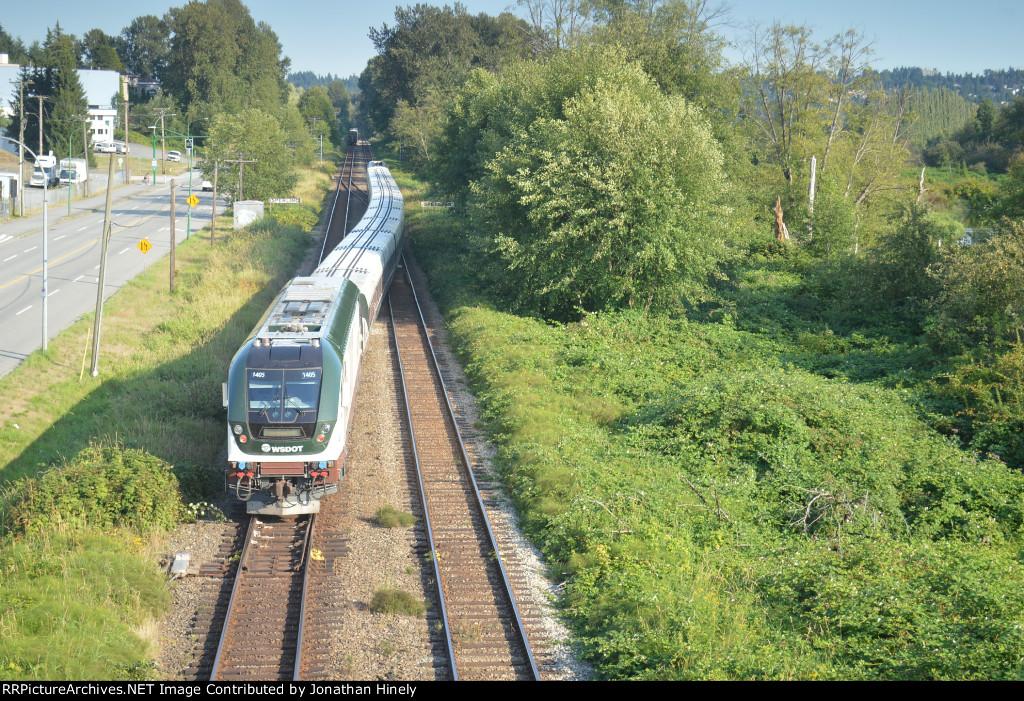 Cascades Train No. 519