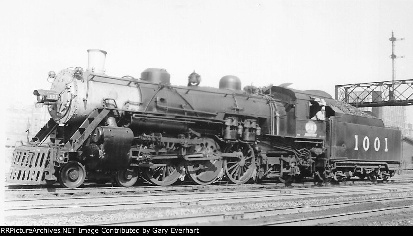 CEI 4-6-2 #1001 - Chicago & Eastern Illinois