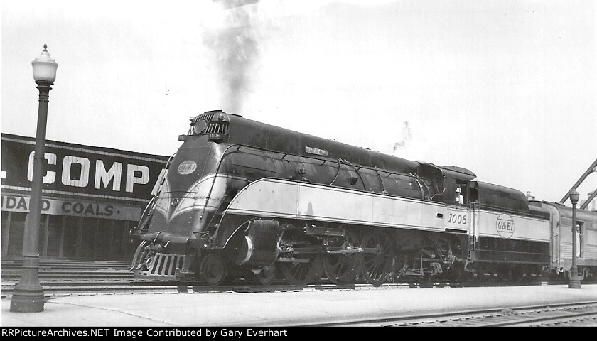 CEI 4-6-2 #1008 - Chicago & Eastern Illinois