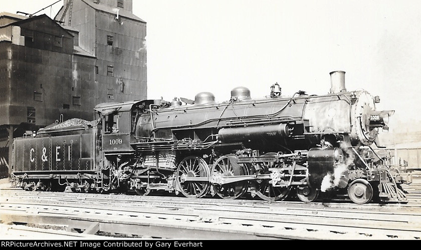 CEI 4-6-2 #1009 - Chicago & Eastern Illinois