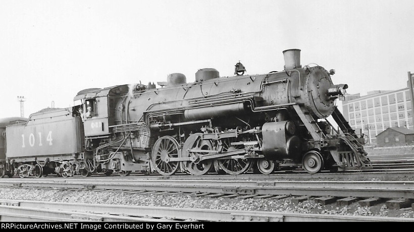 CEI 4-6-2 #1014 - Chicago & Eastern Illinois