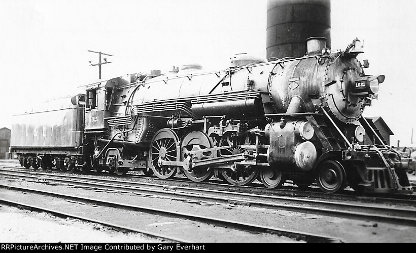CEI 4-6-2 #1021 - Chicago & Eastern Illinois