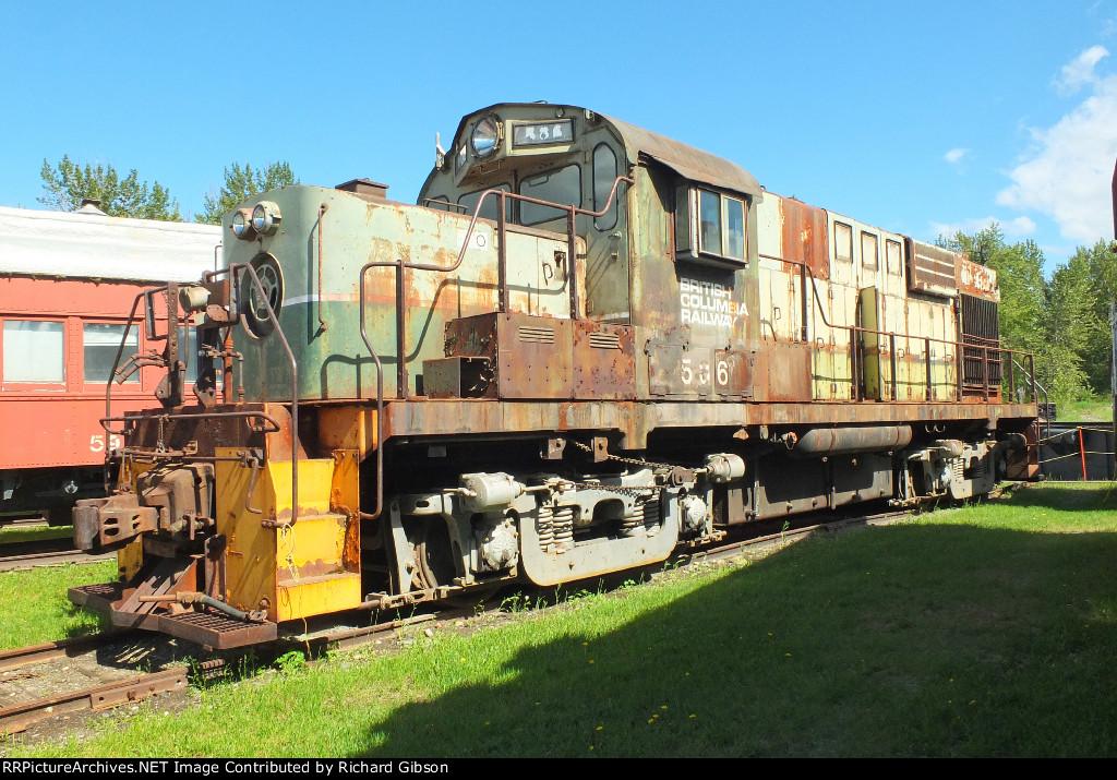 BCOL 586 Locomotive (RS10)