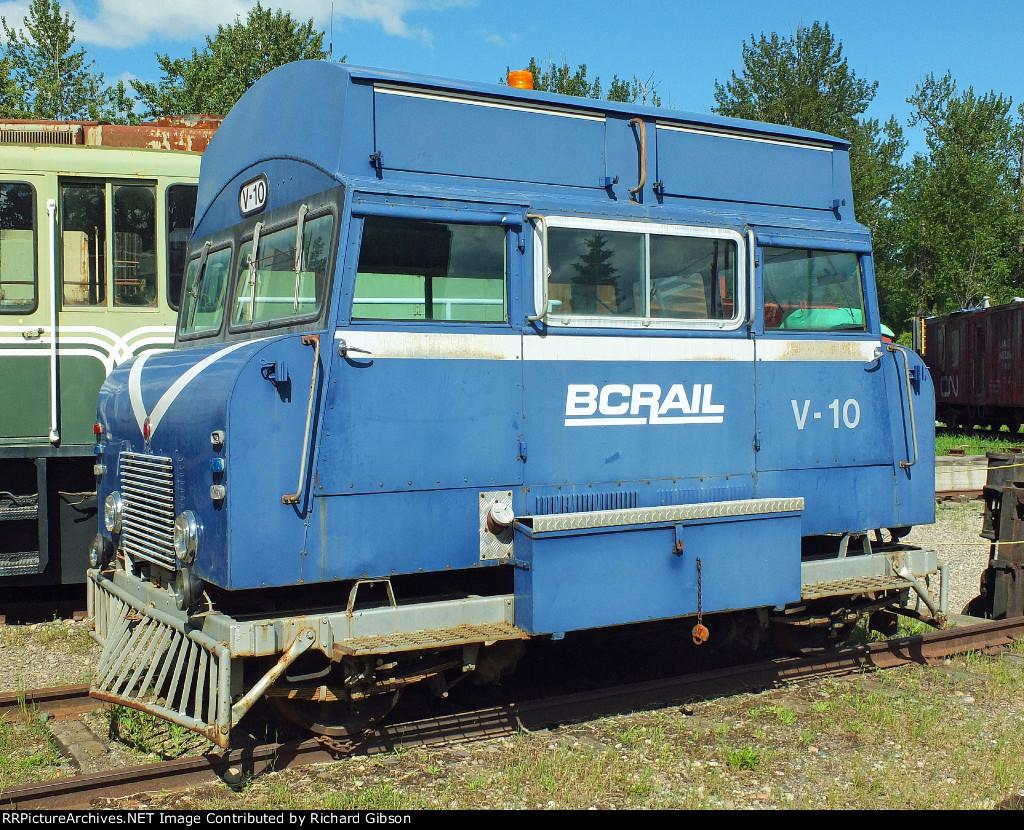 BCOL V-10 Track Inspection Car
