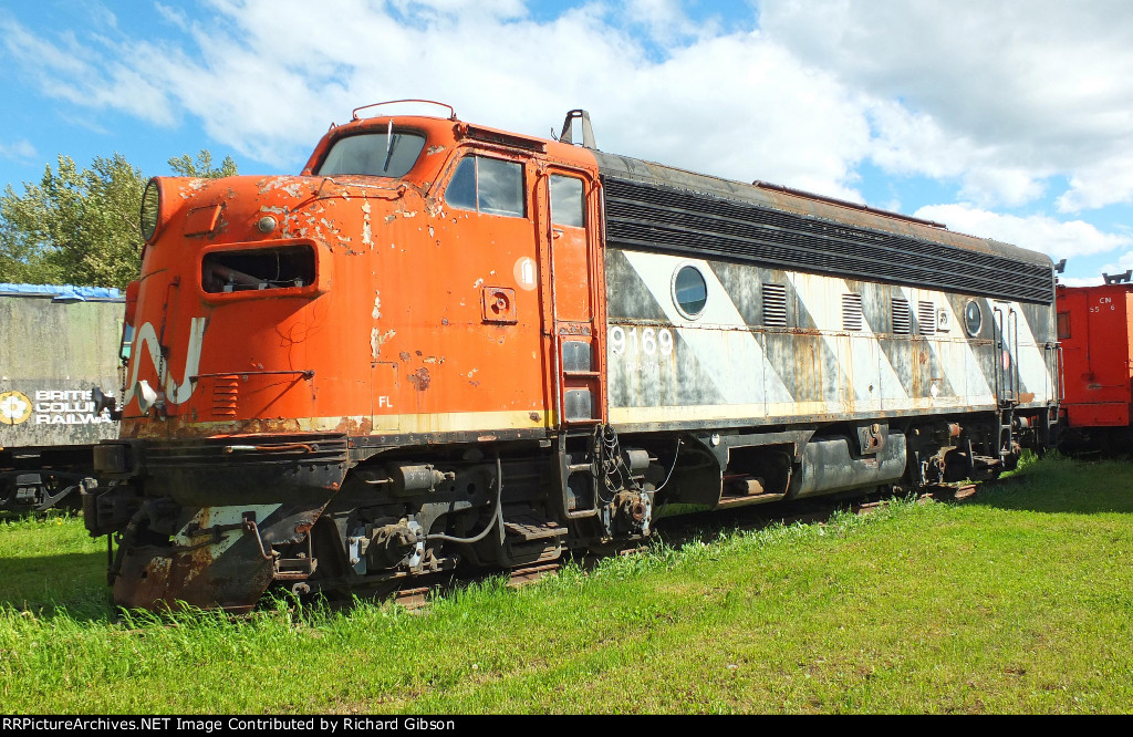 CN 9169 Locomotive (F7A)