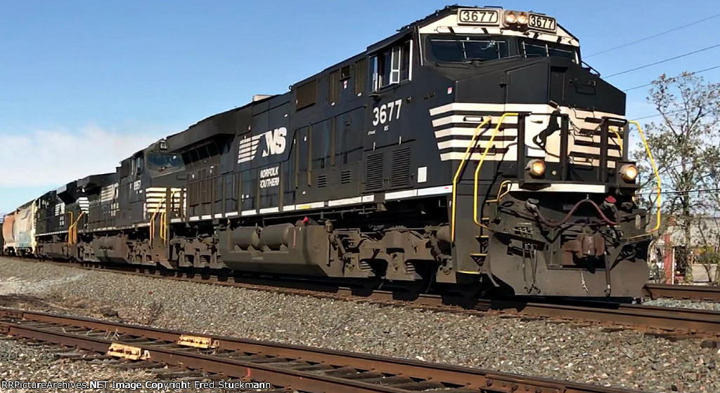 NS 3677 leads 14N.