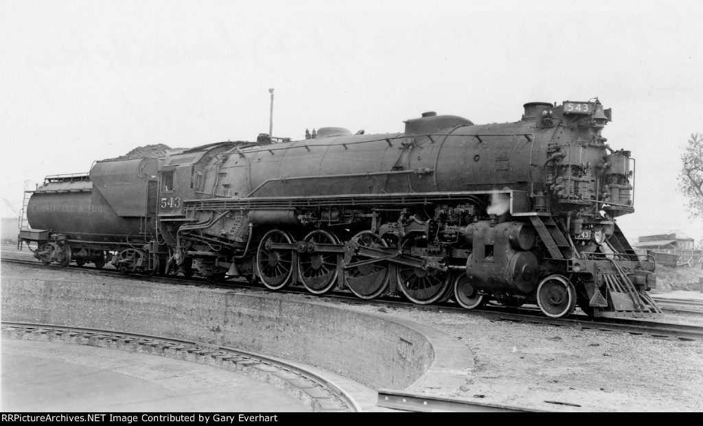 CO 4-8-2 #543 - Chesapeake & Ohio