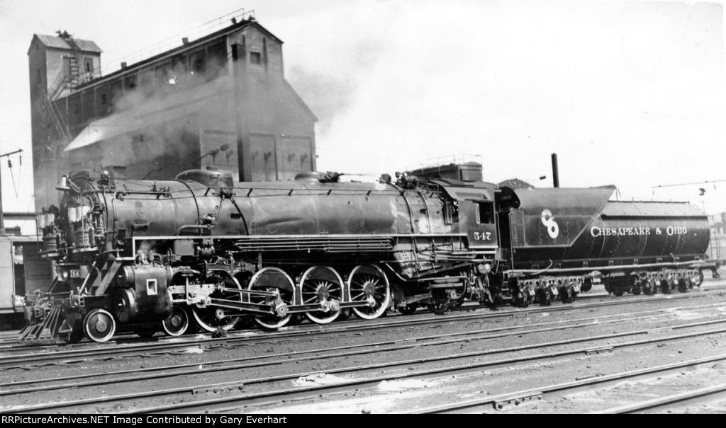 CO 4-8-2 #547 - Chesapeake & Ohio