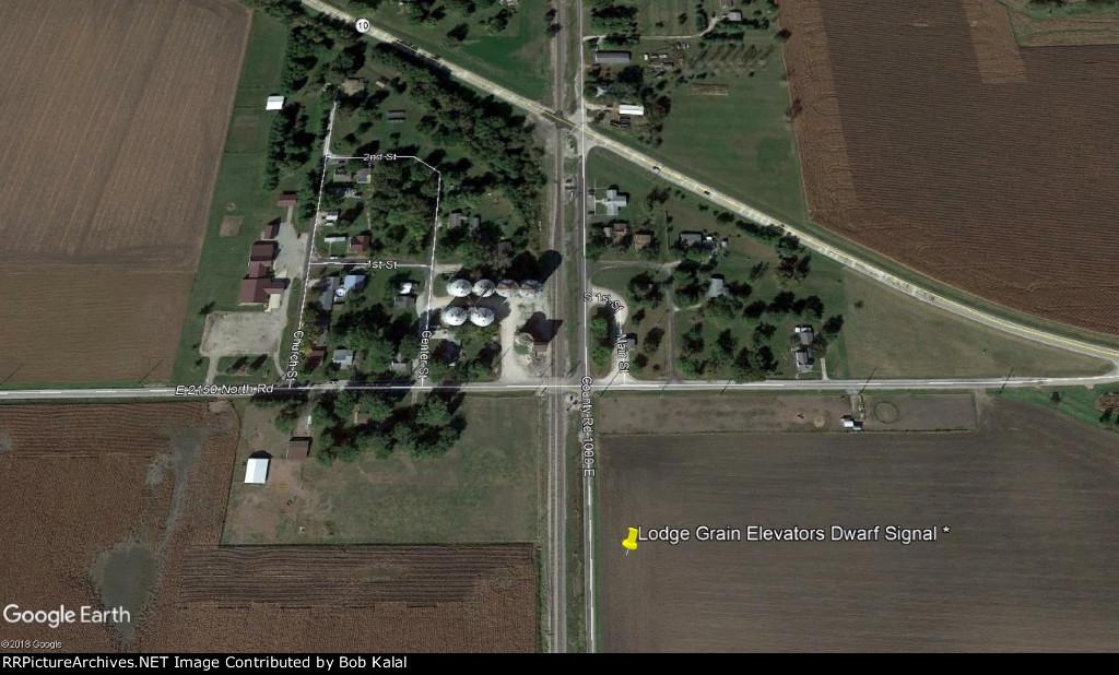 Lodge Grain Elevator Dwarf Signal Aerial