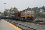 UP 7607 DPU for oil train