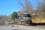 west bound pushers on coal mtys