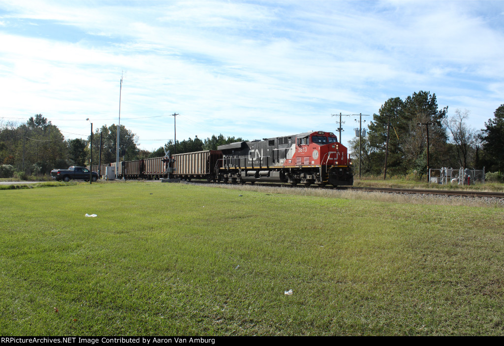 CN Northbound Empty Coal Train
