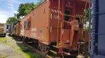 Conrail caboose 21303
