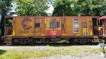 Dover & Rockaway River (DRRV) caboose 386 (former B&O/Chessie)