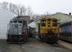 NJ Transit GP40PH-2B 4207 & Morristown & Erie SW1500 20