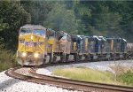 UP 6742, 9069, and 5781 lead CSX 2248, 6424, 6914, and 2344