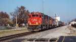 CN 5409 eases into town......