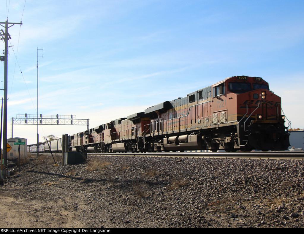 BNSF 7221 H-LAUNTW
