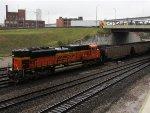 BNSF 9267 DPU